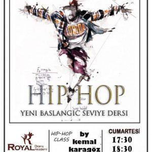 Hip-Hop Sınıfı Başlangıç Seviye Dersi Kayıtları Devam Ediyor….