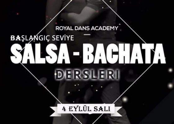 Başlangıc Seviye  Salsa & Bachata Dersi Kayıtlar Devam Ediyor…