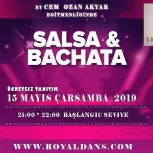 Başlangıc Seviye  Salsa & Bachata Dersi Başlıyor…